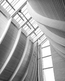 The utzon centre Aalborg, denmark Royalty Free Stock Images