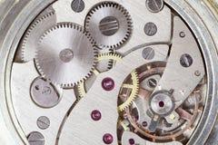 Uurwerk van horloge. Royalty-vrije Stock Afbeeldingen