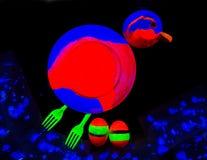 UV ζωγραφική Στοκ εικόνα με δικαίωμα ελεύθερης χρήσης