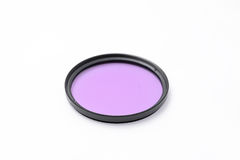 UV filter for camera lens Stock Images