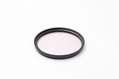 UV filter for camera Stock Image