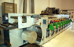 UV flexo press
