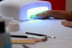 UV lamp. For nail art royalty free stock image