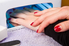 Uv lamp for nails Royalty Free Stock Images