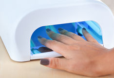Uv lamp for nails Royalty Free Stock Photos