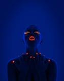 UV portrait Stock Images