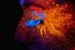 Free UV Portrait Royalty Free Stock Image - 60578016