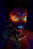 UV portrait royalty free stock image