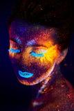 UV portrait stock photos