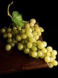 Uva con bicchiere di vino Stock Photography