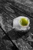 Uva congelata Fotografia Stock Libera da Diritti