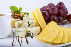 Uva del formaggio Fotografie Stock
