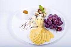 Uva del formaggio Fotografia Stock
