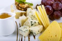 Uva del formaggio Fotografia Stock Libera da Diritti