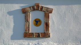 Uva e finestra Fotografie Stock Libere da Diritti