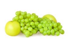 Uva e maçã Imagem de Stock Royalty Free