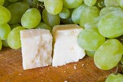 Uva e parmigiano Fotografie Stock