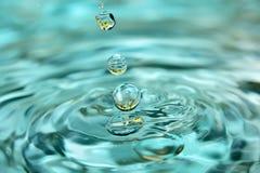 Uva ed acqua. Fotografia Stock