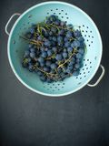 uva fresca organica fotografia stock