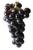 Uva ha isolato su bianco Fotografia Stock Libera da Diritti