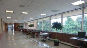 UVA Hospital corridor. University of Virginia, Charlottesville, Virginia Stock Photography