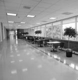 UVA Hospital corridor. University of Virginia, Charlottesville, Virginia Stock Photo