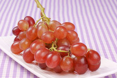 Uva roja de Sultana Imagen de archivo libre de regalías
