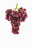 Uva roja fresca Foto de archivo libre de regalías