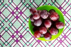 Uva rossa Fotografie Stock