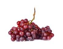 Uva rossa su fondo bianco Immagini Stock