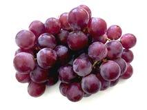 Uva rossa su un fondo bianco fotografie stock libere da diritti