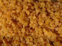 Uva secca dorata Immagini Stock