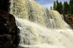 Uva spina Falls_2 fotografie stock libere da diritti