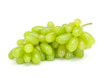Uva verde fresca Fotografie Stock