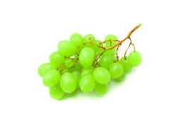 Uva verde fresca Fotografia Stock