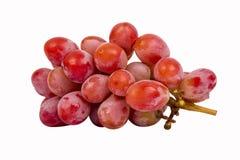 Uva vermelha sem sementes Fotografia de Stock