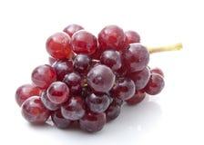 Uva vermelha suculenta Imagem de Stock Royalty Free