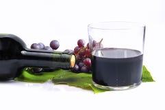 Uvas aisladas. Fotografía de archivo libre de regalías