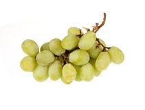 Uvas blancas frescas Foto de archivo libre de regalías