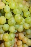 Uvas brancas Foto de Stock Royalty Free