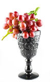 Uvas de las uvas rojas Foto de archivo