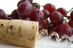 Uvas de vino Fotos de archivo libres de regalías