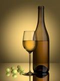 Uvas del vino blanco libre illustration