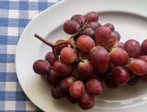 Uvas deliciosas de Creta Imágenes de archivo libres de regalías