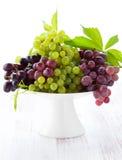 Uvas frescas Imágenes de archivo libres de regalías
