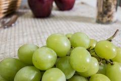 Uvas frescas Fotografía de archivo libre de regalías