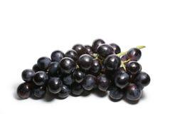Uvas isoladas no branco Imagens de Stock