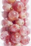 Uvas no vidro de vinho Imagem de Stock Royalty Free