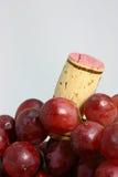 Uvas para o vinho Fotos de Stock