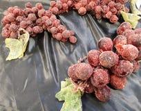 uvas que fermentam em uma loja imagens de stock royalty free